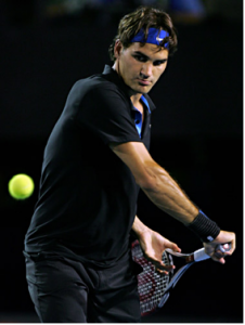 Federer Backhand