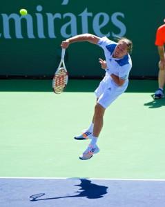 BNP Indian wells tennis tournament 2014