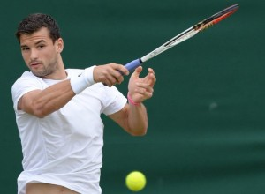 Dimitrov forehand finish