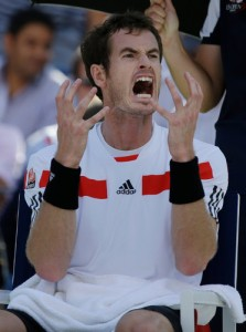 Murray yelling