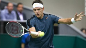 el Potro forehand contact eastern