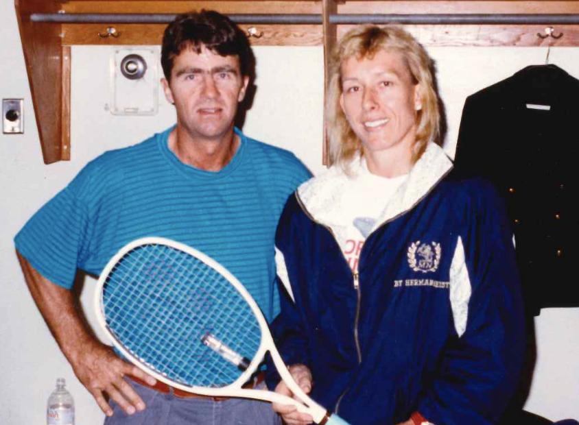 Martina and Jim